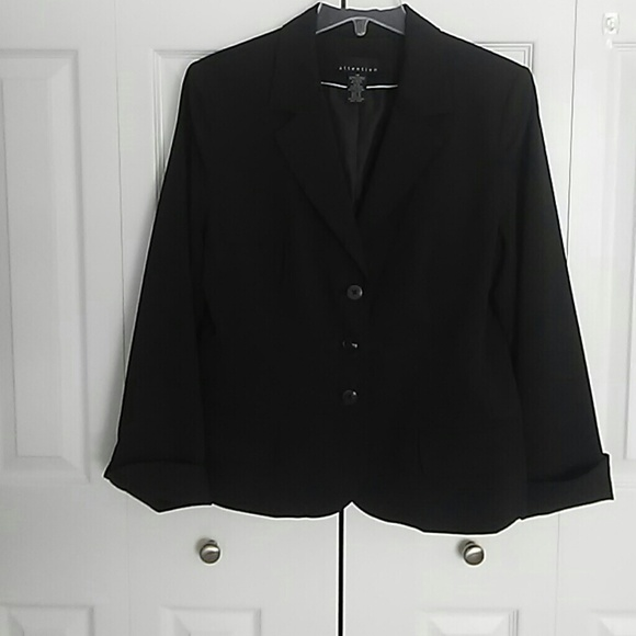 Attention Jackets & Blazers - Attention fully lined black dress jacket